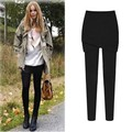 New Autumn Winter Woman Lady Casual Basic Stretch Keep Warm Black Leggings Trousers Calf Pants Legging Plus Size XL~5XL