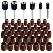 Джамбо 51 шт барабанный шлифовальный набор-Подходит Dremel-включает резиновые барабанные оправки-1/2, 3/8 и 1/4 дюйма