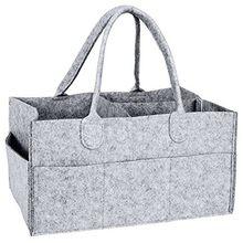 Nursery Storage Bin-Baby Diaper Caddy-Nursery Wipes Bag-Portable Basket nappy organizer