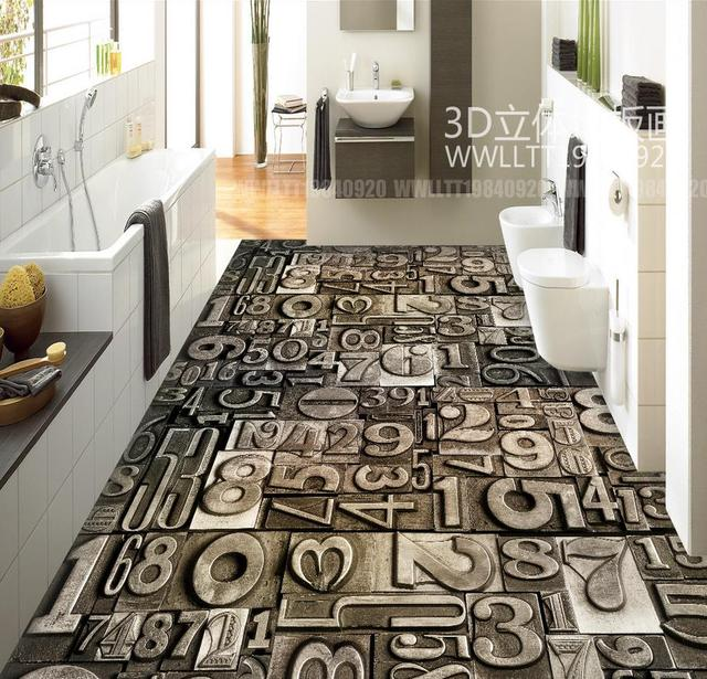 3d boden malerei tapete vintage stein digitale moderne abstrakte muster 3d pvc boden tapete 3d. Black Bedroom Furniture Sets. Home Design Ideas