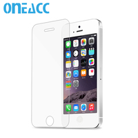 50pcs 0 3mm Premium Tempered Glass Screen Protector For IPhone 5 5S 5c Toughened Protective Film