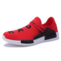 2018 Men Sport Sneakers Breathable Big Running Shoes Men Light Walking Shoes for Male Blue Black Mens Sport Trainers