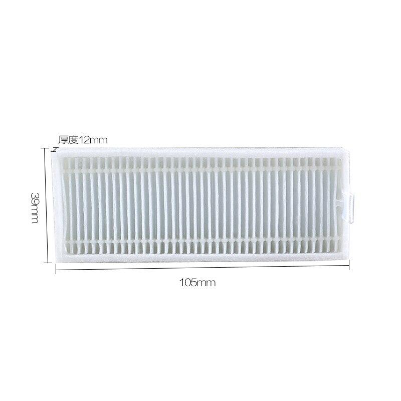 Нейлон Белый hepa фильтр для CEN360 из робот-пылесос Прикрепление