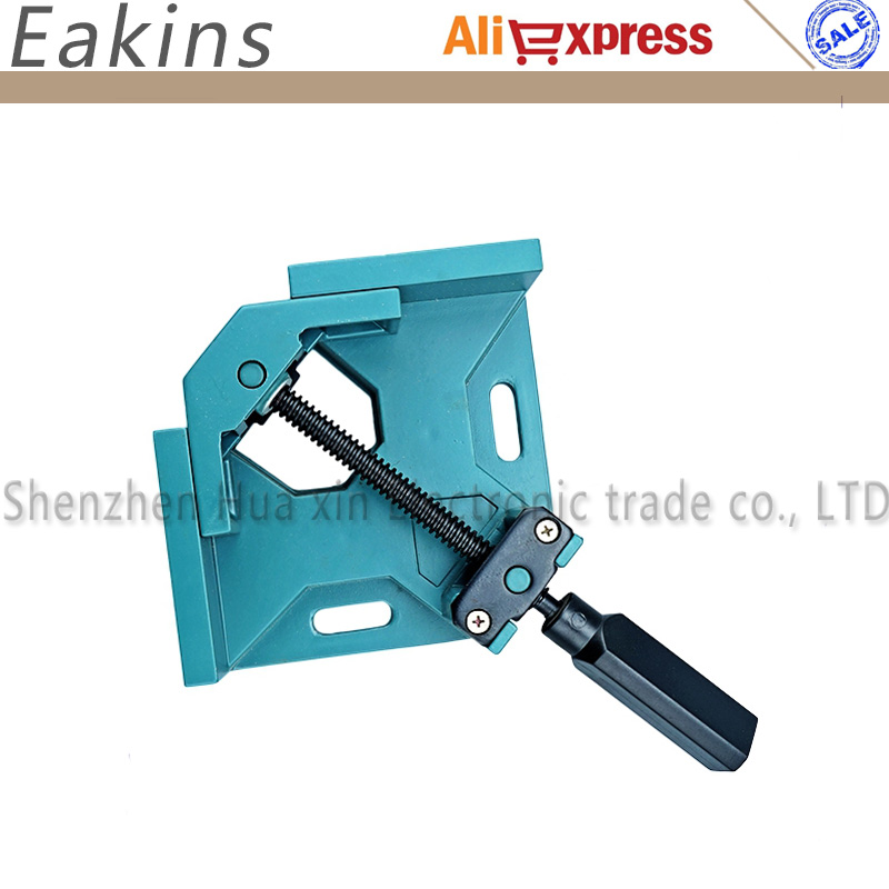 Protable Welding Clamp Holder 90 Angle Clamp Welding Auxiliary Tool Soldering Positioner Clip Soldering Repair Holder ninth world new single handlealuminum 90 degree right angle clamp angle clamp woodworking frame clip right angle folder tool
