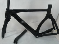 Factory sale carbon frame with glossy finish TT bike frame with free shipping