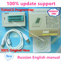 V6.5  100% Original New TL866CS High Performance programmer TL866CS / TL866A USB Universal Programmer Russian English manual