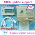 V6.5 100% Original Novo TL866CS programador De Alto Desempenho TL866CS/TL866A USB Universal manual do Programador Russo Inglês
