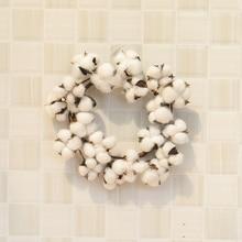 HOYVJOY Home Decorations Wreaths for Christmas Pine 25cm 40cm Big Garlands Party DIY Decor Cotton Wreath