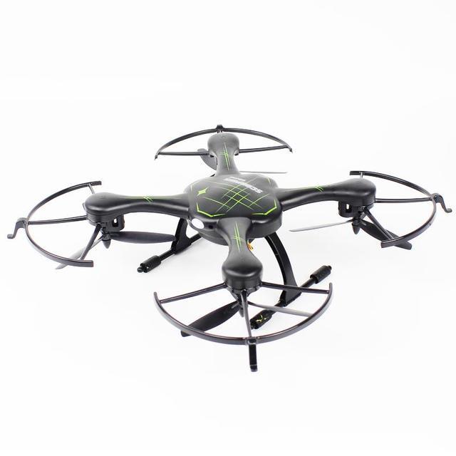 F16209/210 FQ777 955 Drone 2.4G 4CH 6 ejes Modo Sin Cabeza de Una Tecla de Retorno RC Quadcopter RTF Negro ninguna Cámara