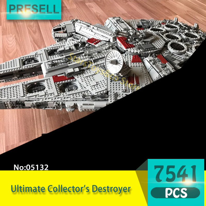 Lepin 05132 7541Pcs Star Series Wars Ultimate Collector's Destroyer Building Blocks Set Bricks Toys For Children Gift 10179 new 5265pcs star wars ultimate collector s millennium falcon model building kits blocks bricks kids toys compatible with 10179