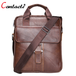 Contact s genuine leather crossbody bags men handbags messenger bag business laptop briefcase with handles shoulder.jpg 250x250