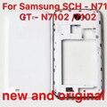 Для Samsung SCH-N719 новые и GT-N7102 мобильного телефоны оболочки gtn7102 задняя крышка назад корпус крышка батарейного отсека в s