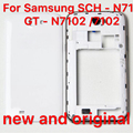 For Samsung SCH - N719 new and  GT - N7102 mobile phones  shell gtn7102 rear cover back shell battery cover in s