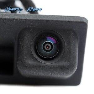 Image 5 - Yeni 56D 827 566 bir dikiz geri görüş kamerası ve arka görünüm kamera kablo demeti kiti VW Golf Tiguan Passat RCD 510 RNS 510 5M1970161AC