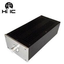 MINI caja amplificadora de Audio HIFI de aluminio puro, Audio WA46, carcasa de amplificador, preamplificador, tubo, chasis PSU, caja DAC