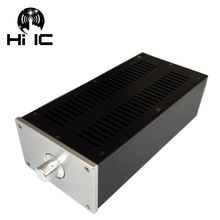 Аудио WA46 мини чистый алюминий HIFI аудио усилитель корпус/AMP Корпус/Preamp/ламповый усилитель/корпус для блока питания DAC Box
