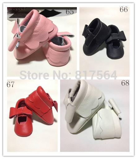 WOW moda lindo bebé de la flor del nudo de la mariposa de cuero genuino mocasines de suela suave prewalker niños pequeños/bebés zapatos mocasín