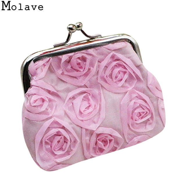 US $1.36 |New Fashion Girls Rose Flower Coins