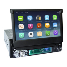 7″ Capacitive Touch Screen 1Din Car Android 6.0 Radio Stereo 1024*600 Universal For BT Radio Stereo Audio Player GPS Navigation