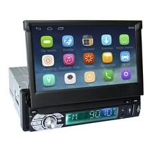 7 «емкостный сенсорный экран 1Din автомобиль Android 6,0 Радио Стерео 600*1024 универсальный для BT Радио стерео аудио плеер gps навигации