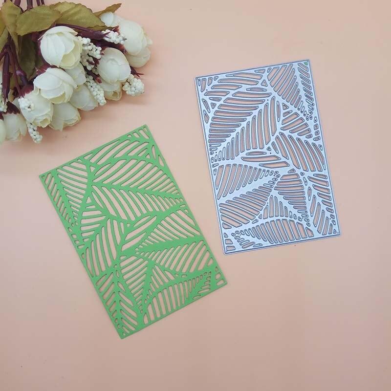 tropical leaves Dies Scrapbooking Metal Cutting craft Dies cuts thin paper art