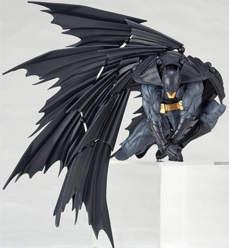 все цены на Amazing Yamaguchi 009 DC 15cm Justice League Batman Super Hero BJD Figure Model Toys