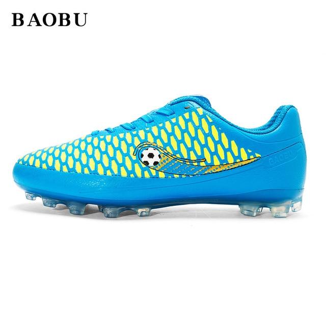 5be87646c3f41 Baobu profesional AG soles Fútbol al aire libre Zapatillas de Soccer hombres  mujeres Atlético entrenamiento Botas