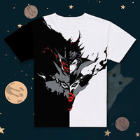 New Persona 5 T shirt Anime JOKER t shirt Polyester Summer Short sleeve Tees tops