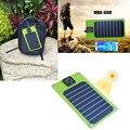 Dobrável Painel Solar Saída Usb Pacote 5 w de Carregamento Sob O Sol À Prova D' Água Para O Smartphone