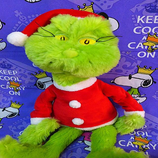 38cm movie how the grinch stole christmas grinch doctor seuss cartoon cute stuff plush toy doll - How The Grinch Stole Christmas Movie Online