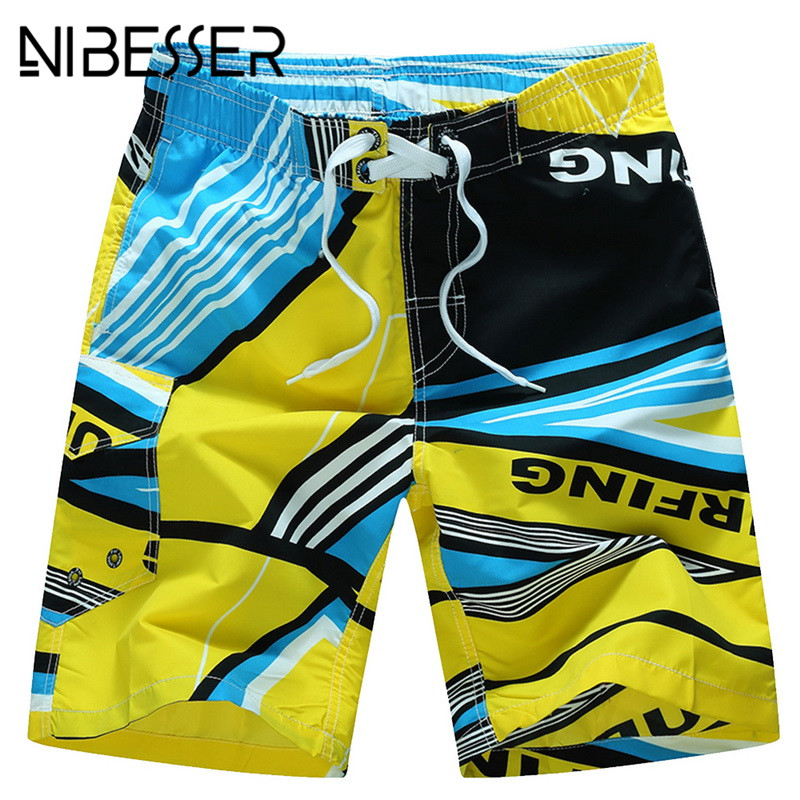 Men's Clothing Search For Flights Nibesser Large Size 6xl Board Shorts Men Summer 2018 Fashion Drawstring Loose Short Bottoms Casual Print Bathings Shorts 3xl