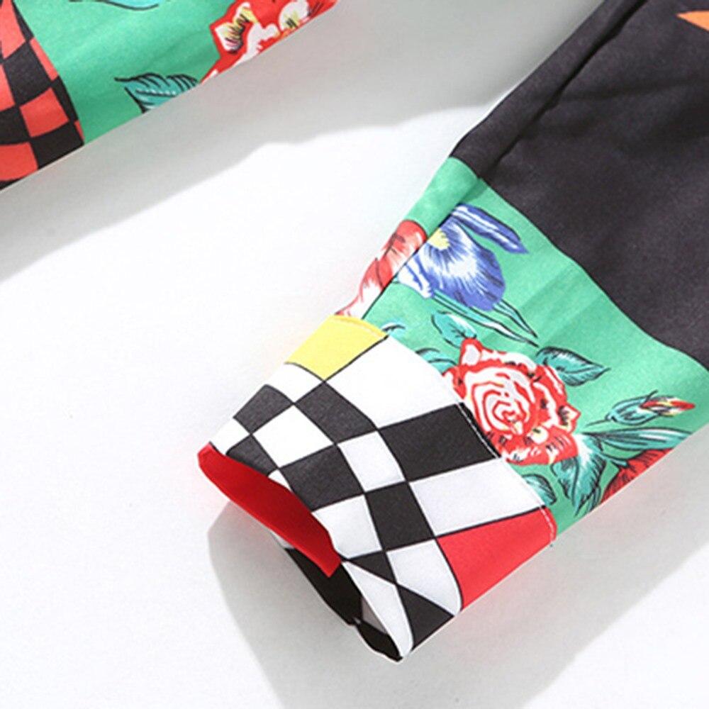 d55aca0f274dc US $59.69 |Bohemian Big Swing Maxi Dresses Women 2018 New Fall Colorful  Print Button Ladylike Elegant Vocation Trendy Boho Satin Long Dress-in  Dresses ...