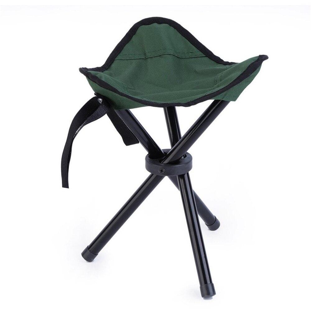 Folding Stool <font><b>Chair</b></font> Tripod Fold Fishing Seat Foldable Portable <font><b>Chair</b></font> High Quality Ultralight <font><b>Chairs</b></font> Outdoor Camping Free Ship
