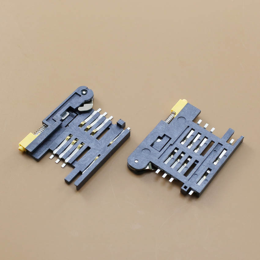 YuXi 1pcs/lot New drawer type sim card reader socket holder connector tray slot replacement.