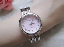 Новый бренд моды платья Женщин часы Повседневный Стиль Браслет Элегантный Кварцевые Часы Браслет Часы 10 шт./лот