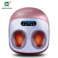 JinKaiRui Electric Vibrator Foot Massager Health Care Massage Infrared Heating Therapy Shiatsu Kneading Air Pressure Machine