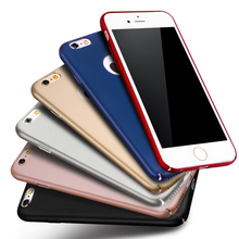 Luxury Ultrathin Slim Matte Full Protect Phone Cover Top Quality Hard PC Back Case Cover for IPhone 7 7Plus IPhone7 Plus