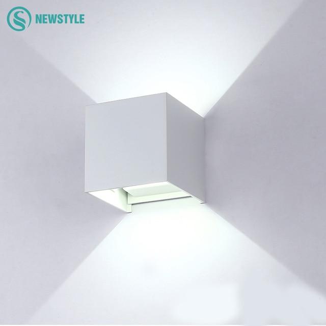 Cube Modern Waterproof COB Wall Light For Home Decoration Lighting ...