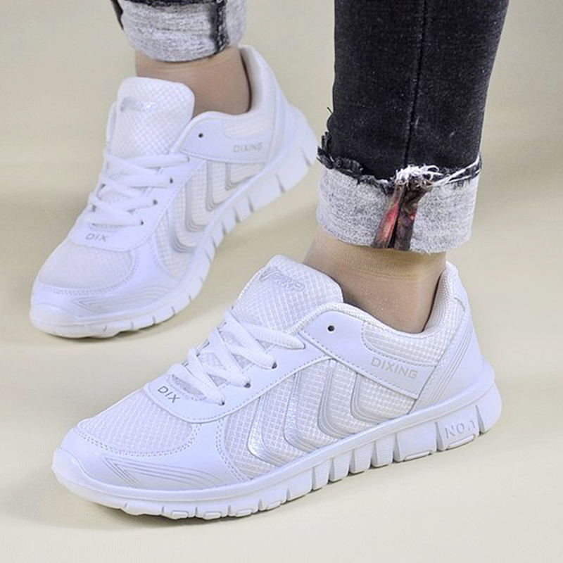 Women Shoes  Comfortable Light Sneakers Women 6 Colors Vulcanize Shoes Tenis Feminin Breathable Mesh Casual White Shoes Female