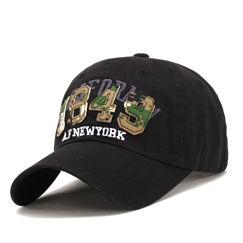 New Autumn Mens Baseball Caps Snapbacks Hip Hop Hats 1849 for Women Men Bone Casual Casquette