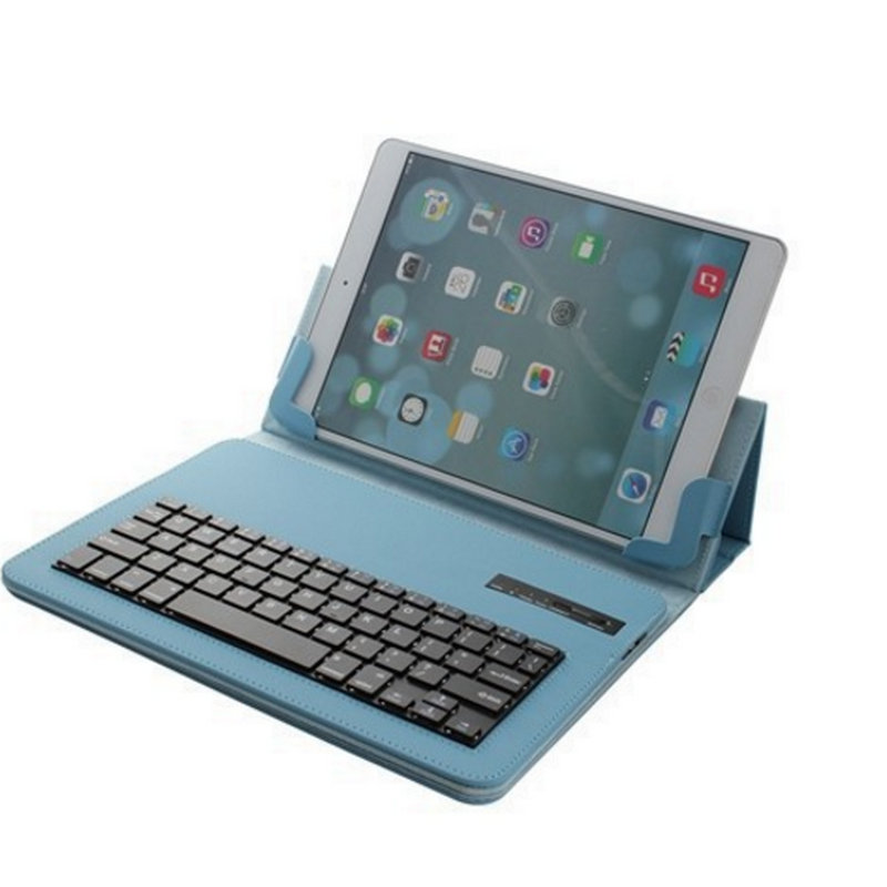 ФОТО Bluetooth Keyboard Wireless Removable Portfolio Leather Case Cover For Apple iPad 4 3 2 2016 New Hot Sale 4Colors