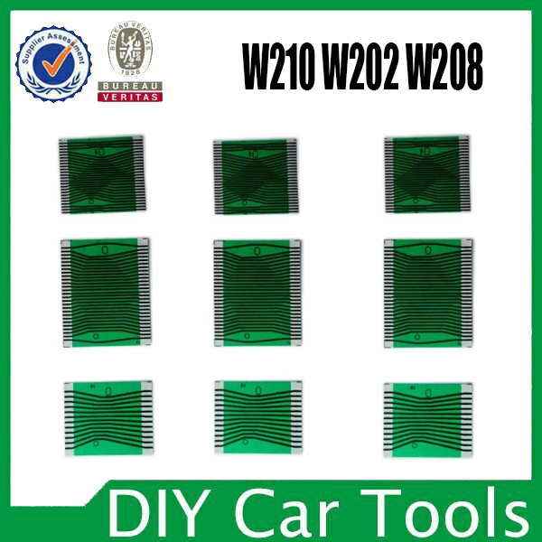 (5sets) for Benz Mercedes Instrument cluster pixel failure repair tools for MB W210 W202 LCD Display for Benz Pixel Repair Tools