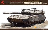 MENG MODEL TS 001 TANK Plastic Model Kits 1/35 SCALE ISRAEL MAIN BATTLE TANK MERKAVA Mk.3D EARLY