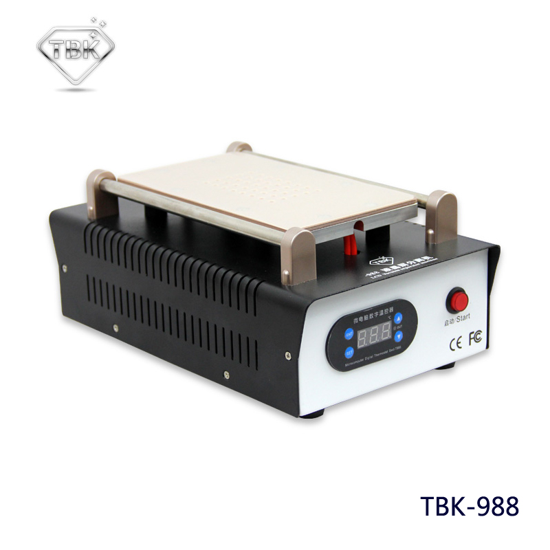 цена на TBK-988 New 7 Inch LCD Separating With Built-in Vacuum Pump Touch Screen Separator Machine For Mobile Phone Repairing