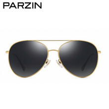PARZIN Aviation Sunglasses Women Brand Designer Vintage Polarized Female Sun Glasses Driving Sunglasses Shades With Case 9906