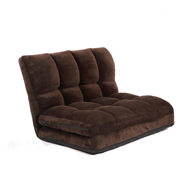 Convertibile Futon Vibrazione Sedia Sleeper Bed Divano Divano Posti A Sedere Lounger Mobili Soggiorno Piegare Verso Il Basso Sedia Per Dorm Guest Couch