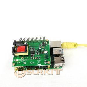 Image 3 - DSLRKIT 5V 12V PoE HUT Raspberry Pi 4 4B 3B + 3B Plus 3.5in Festplatte LED 26Watt