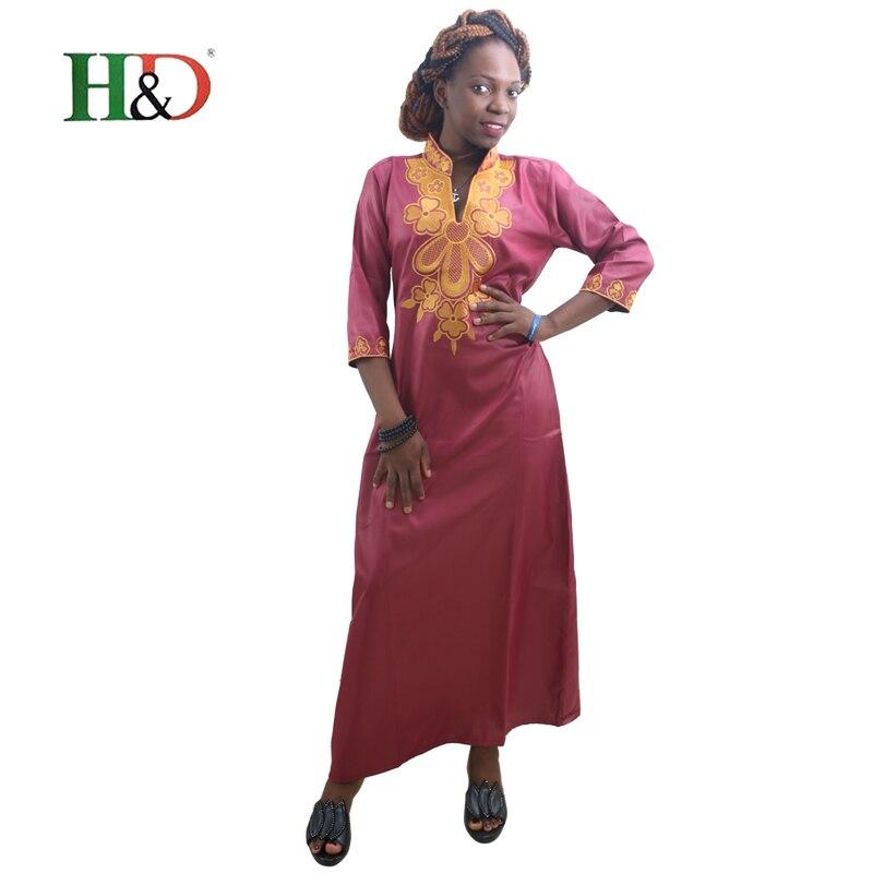 H & D Alla afrikanska traditionella klänningar för kvinnor - Nationella kläder - Foto 2