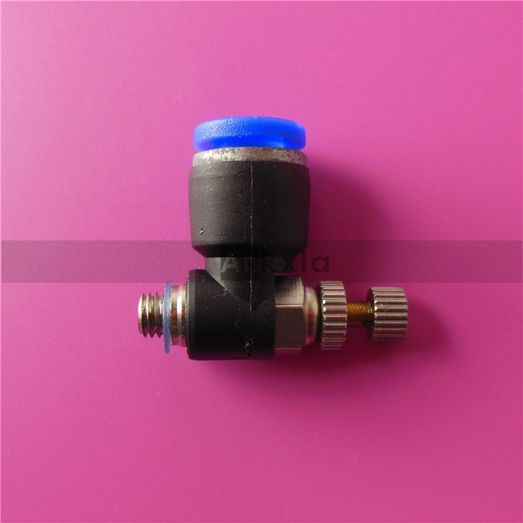 6mm Head Air Tube Fitting Air Assist/air Adjuster For Co2 Laser Cutter Engraver Pipe Fittings