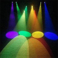 Thrisdar 5W LED Round Beam Pinspot Light Spotlight Super Bright Lamp Mirror Balls DJ Disco Effect